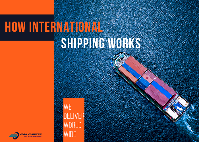 How International shipping works