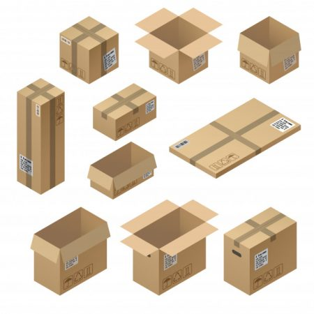 3d cardboard box packaging