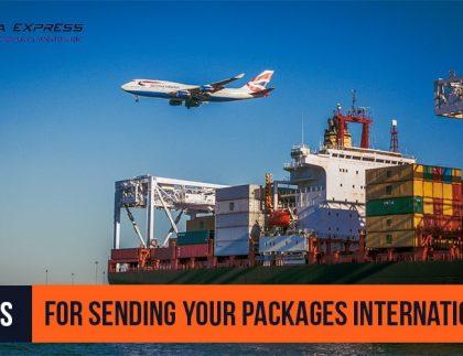 Tips for sending package internationally - banner