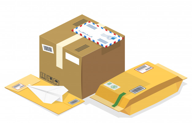 sealing packages for courier